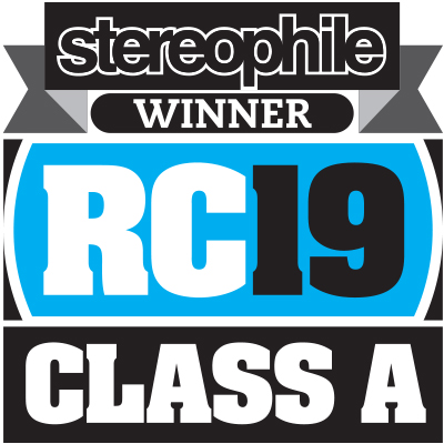 stereophile winner rc19 class a