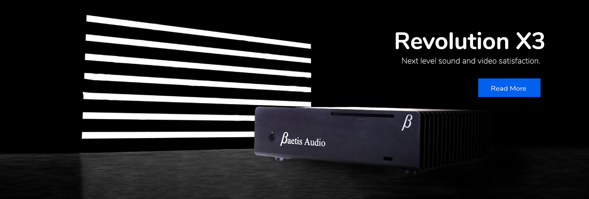 baetis audio revolution x3